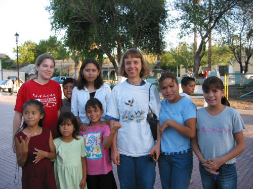 On a church outreach trip to Mexico.  Click here for more info about my Best Friend.